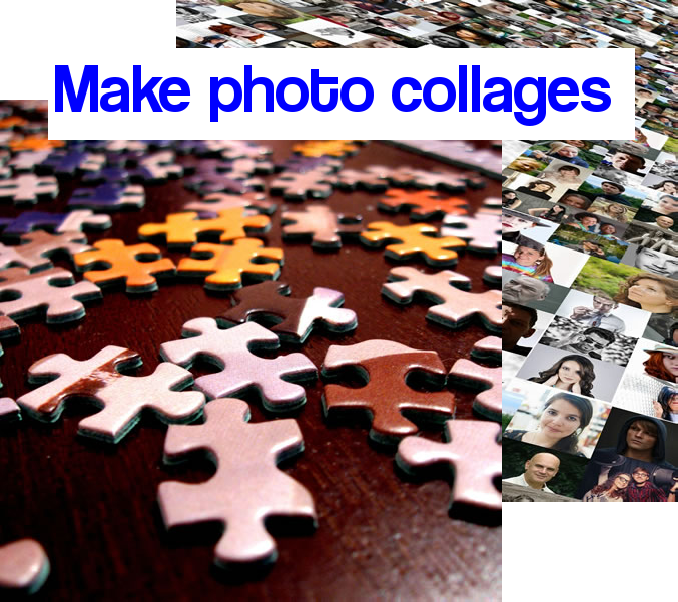 Make photo collages easily